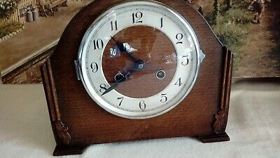 1930's Mantle clock in excellent restored serviced working condition
