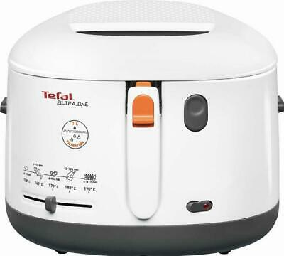Tefal Fritteuse FF 1631 ws/anthrazit weiß/anthrazit Fritteusen FF1631 Fritteuse