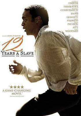 12 Years A Slave (Dvd, 2014) - New Dvd