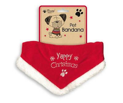 Deluxe Pet Christmas BANDANA Dog Cat Collar Scarf Clothe Outfit Neckerchief Xmas