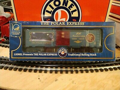 Lionel 6-25965 The Polar Express 10th Anniversary Boxcar with Box