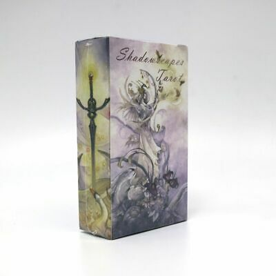 Shadowscapes tarot cards game 78 deck divination fortune english version