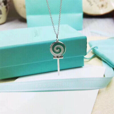 Tiffany & Co Silver Lollipop Charm Necklace