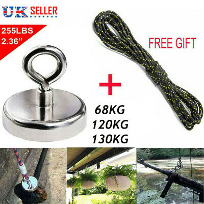 Slavage Recovery Magnet Fishing Treasure Metal Detector with 30 Metre Rope Kit