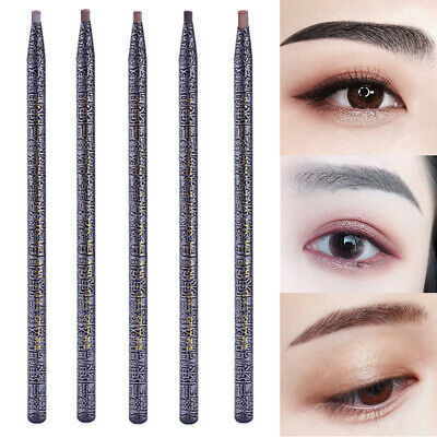 Women Eyebrow Pencil Long Lasting Waterproof Sweat-Proof Non-Smudge Cosmetic
