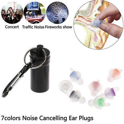 Silicone Noise Cancelling Soft Ear Plugs for Sleeping Concert HearSafe EarplugDS