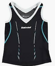 Babolat Kids Match Tank Performance Vest Top Black UK 7-8 *Ref109