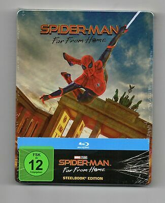 Spider-Man: Far From Home - Blu-ray Steelbook - NEW / SEALED - All Regions