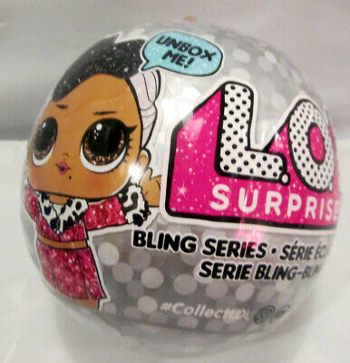 NEW  MGA LOL Surprise Bling Series Ball 100% AUTHENTIC USA 7 Surprises