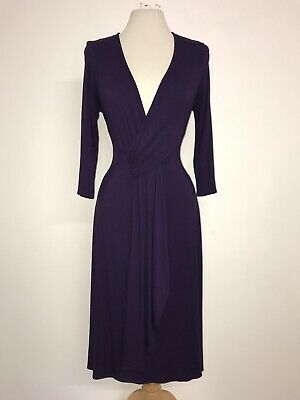 PHASE EIGHT -GORGEOUS Long PURPLE Evening DRESS - Size 14 - WORN ONCE -BEAUTIFUL