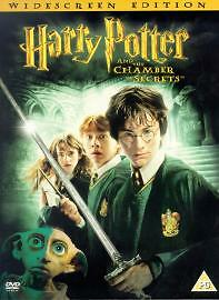 SEALED WIDESCREEN Harry Potter And The Chamber Of Secrets DVD 2003 2 Disc Set R2