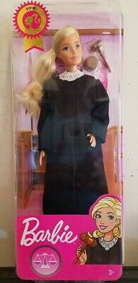 Mattel 2019 Barbie Career of the Year JUDGE BARBIE DOLL Blonde BRAND NEW FXP42!!