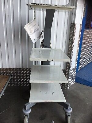 Olympus Imaging Stack Trolley TI-1900 laparoscopy Theatre Surgery Medical use