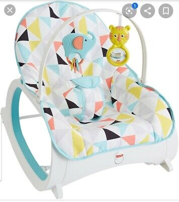 Fisher-Price Infant-to-toddler Rocker for Geo Diamonds CMP83