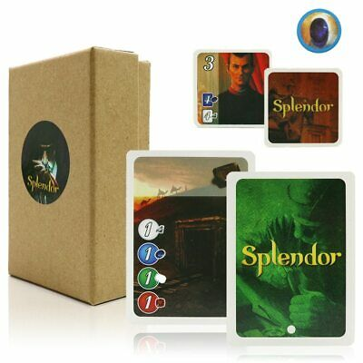 Splendor Board Game Full English Version Party Games Adult Family Playing Cards