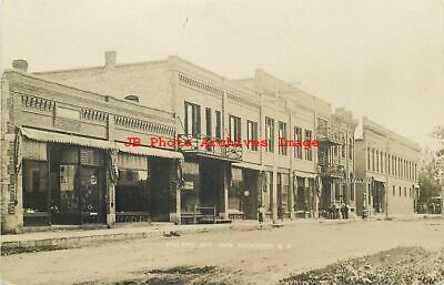 New Rockford Nd >> Rppc New Rockford Nd Birdseye Town View Early 1900s