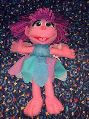 Hasbro Sesame Street Soft Stuffed Abby Cadabby Doll Plush