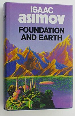 Foundation and Earth by Asimov, Isaac Hardback Book The Cheap Fast Free Post