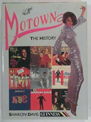 Motown: The History by Davis, Sharon Hardback Book The Cheap Fast Free Post