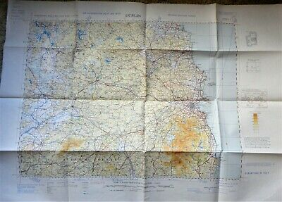 Vintage Northern Ireland and Eire Map - 2nd Edition 1953
