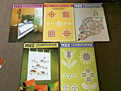Mez Lehmuster Hardanger Patterns X 5
