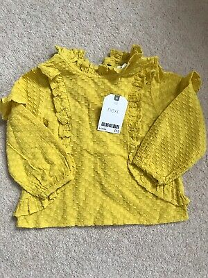 Next Girls Top BNWT 9-12 Months