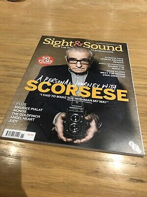SIGHT AND SOUND FILM MAGAZINE - November 2019 - Scorsese - Like New