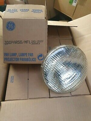 GE PAR 56 240V 300W BULB LampPAR56 (BOX OF 12) Brand New Old Stock