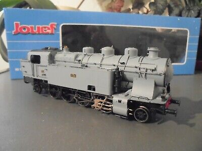 jouef hj2300 steam loco 141 5413 po  sncf epoque 11 dcc with sound needs repair