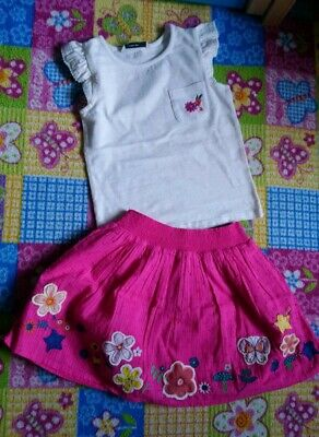 Brand New Girl Set Outfit Top And Skirt Size 4-5 Years