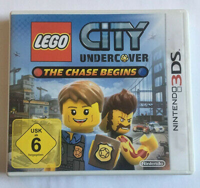LEGO City Undercover: The Chase Begins | (Nintendo 3DS, 2013, Keep Case)