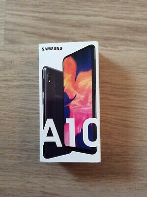 NEW Samsung Galaxy A10 Dual Sim (2019) 32GB 4G LTE NFC Black Unlocked UK Version