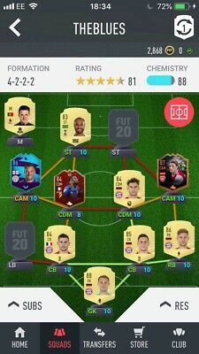 Xbox One Fifa 20 Ultimate Team