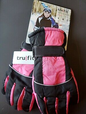NEW Women's TRUFIT Waterproof Insulated Winter or Ski GLOVES~ ONE SIZE FITS ALL