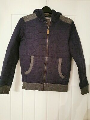 Next age 11 hooded top boys blue in excellent condition
