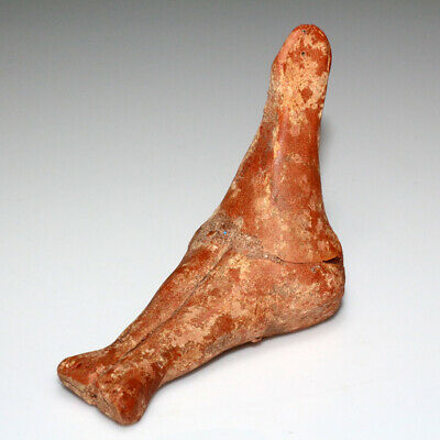 Rare Tell Halaf Terracotta Female Idol Statue Circa 3500 Bc