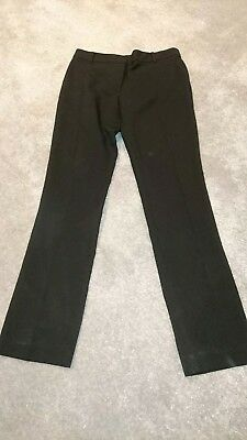 black new look bnwot school trousers age 10 smart without tags
