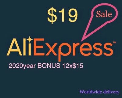 Aliexpress 19$ Coupons #Bonus 2020year 15$coupon/month#Worldwide Delivery