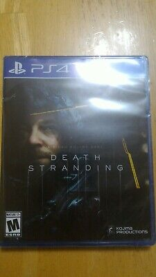 NEW Sealed Death Stranding Standard Edition PlayStation 4 PS4 Not For Resale NFR