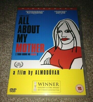 All about my Mother (DVD) Pedro Almodovar ~ Region 2 PAL