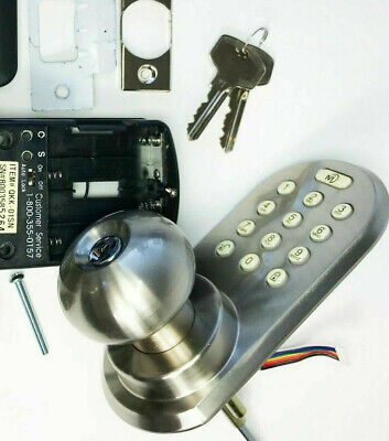 Polished Brass MORNING INDUSTRY INC QF-01P 3-In-1 Remote Control /& Touchpad Dead Bolt