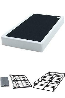 Bed Mattress Foundation Box Spring 7.5 Metal Folding Twin Full Queen King Size