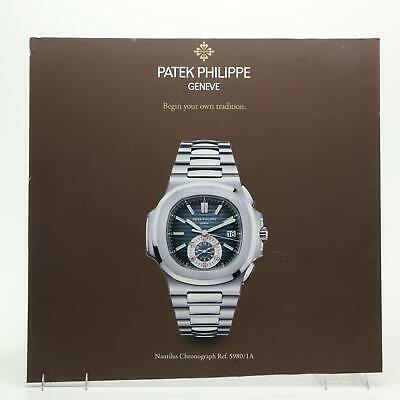 "30x29"" Patek Philippe Geneve Nautilus Chronograph Watch Poster Advertising Sign"