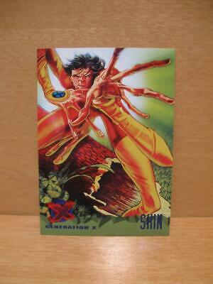 1995 Fleer Ultra Marvel X-Men Card #77 Generation X - Skin