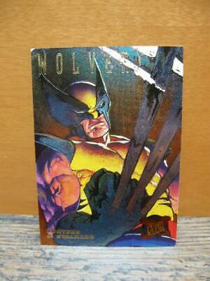 1995 Fleer Ultra Marvel X-Men Ltd. Edition Hunters & Stalkers #7/9 Wolverine