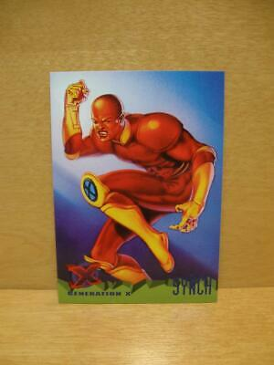 1995 Fleer Ultra Marvel X-Men Card #78 Generation X - Synch