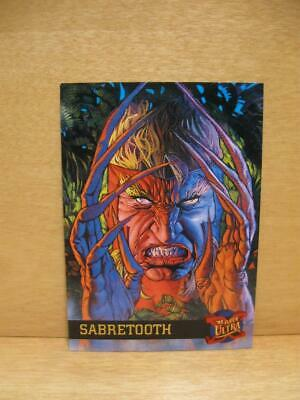 1995 Fleer Ultra Marvel Comics X-Men Card #41 Sabretooth - Victor Creed