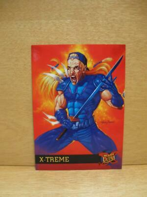 1995 Fleer Ultra Marvel Comics X-Men Card #54 X-Treme - Adam X