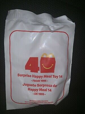 Surprise💥 40th Anniversary 2019 McDonalds Happy Meal Toys #14 Red Power Ranger