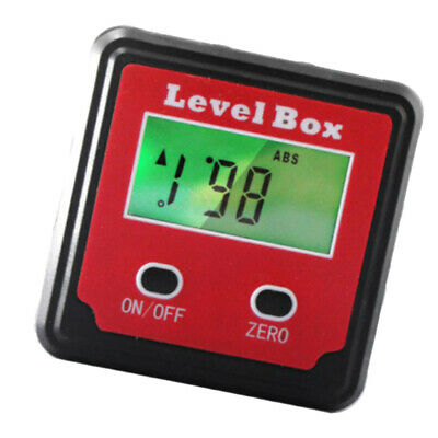 Portable Durable Mini LCD Digital Display Level Ruler 360 Degree Angle Ruler